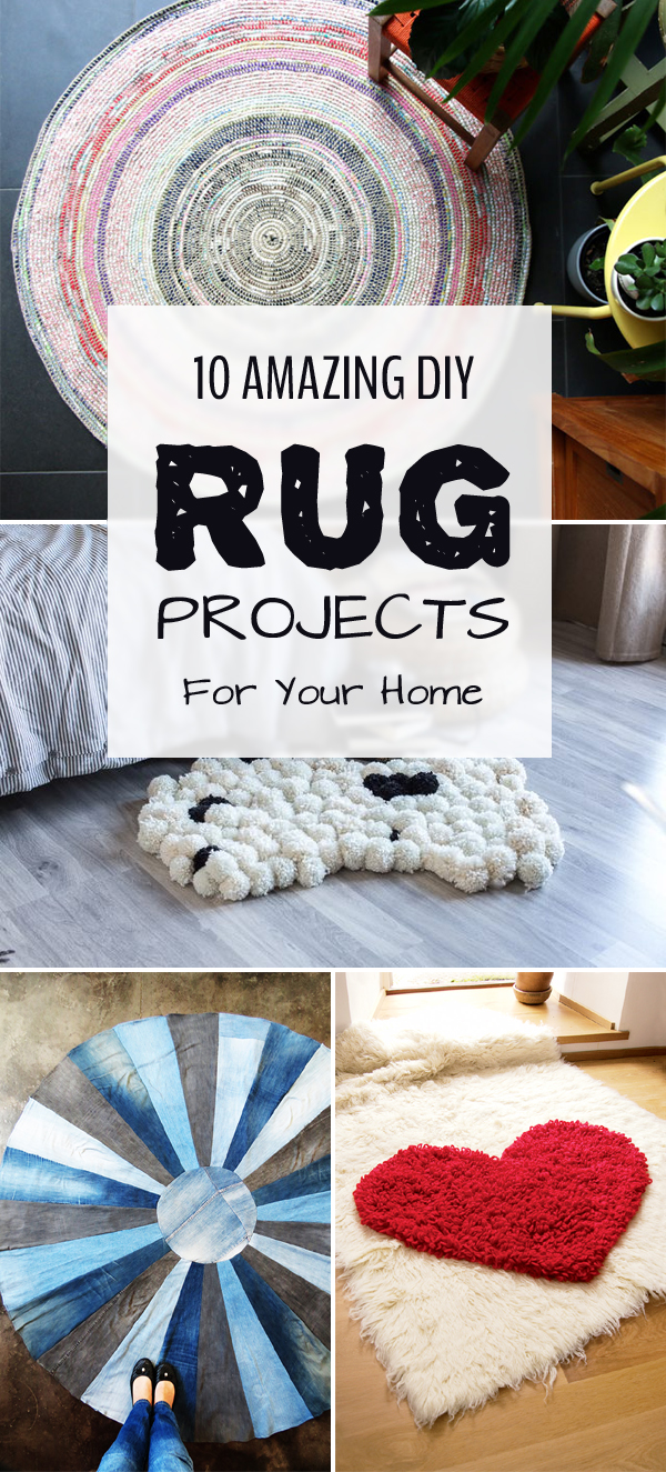 10 Amazing DIY Rug Projects For Your Home