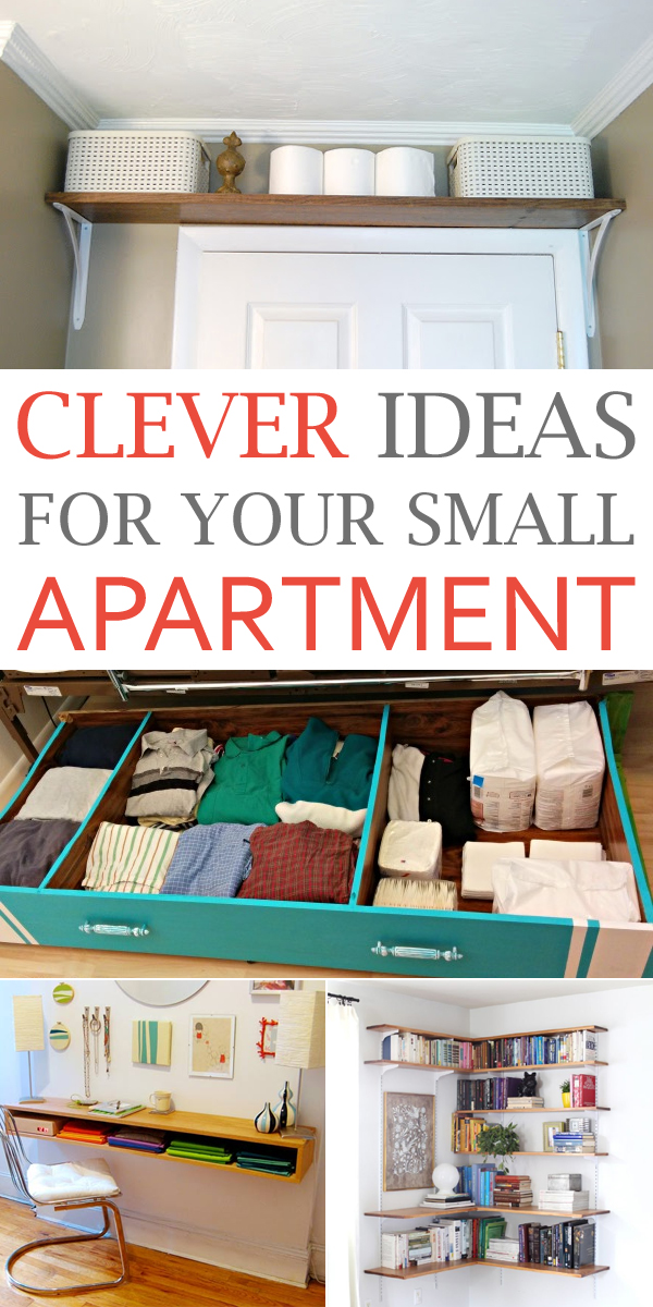10 Clever Ideas For Your Small Apartment