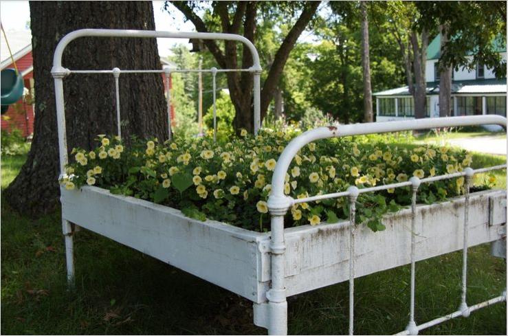 Bed Frame Planter