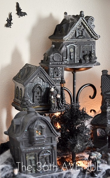 Create a Spooky Halloween Village