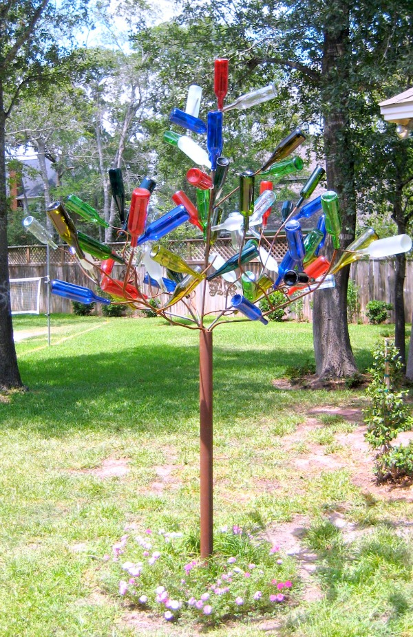 Create your own bottle tree