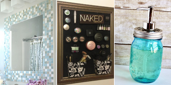 Diy Bathroom Decorating Ideas: 15 Easy & Cheap Bathroom Decor Ideas
