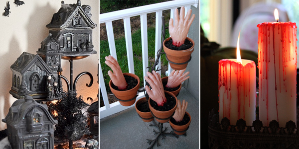 20 dollar store halloween decor ideas Halloween decoration diy cheap