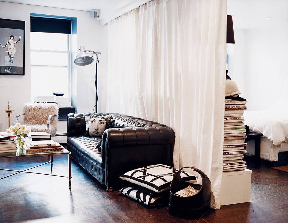 10 Creative Examples For Dividing Small Spaces: 10 Clever Ideas For Your Small Apartment