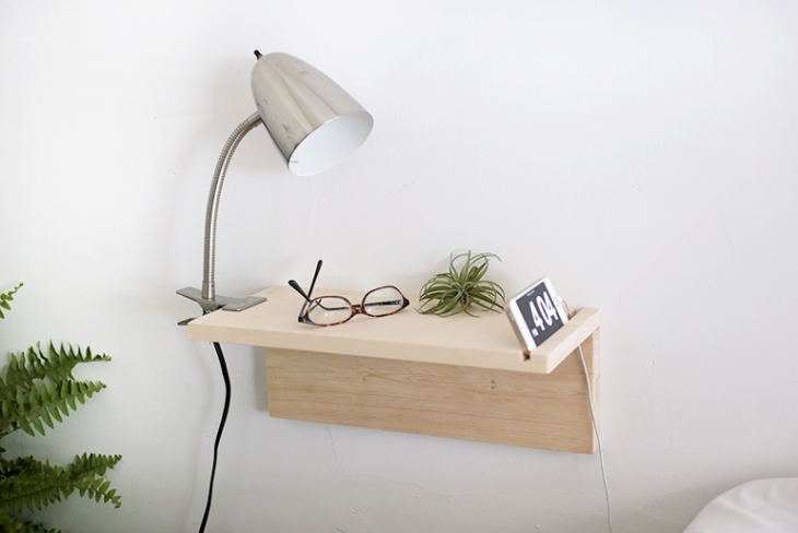 Floating Nightstand