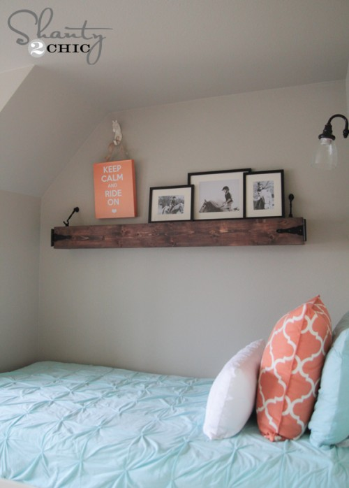 Floating Rustic Shelf