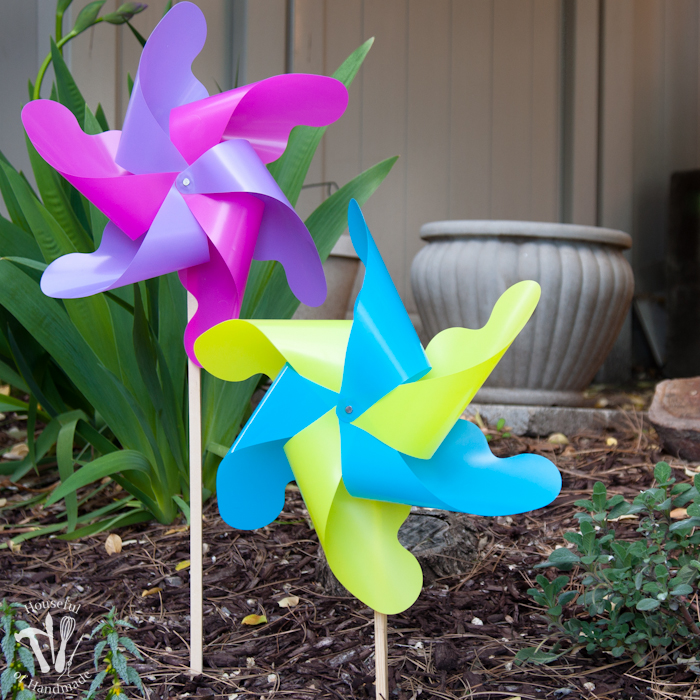 Giant Outdoor Pinwheels