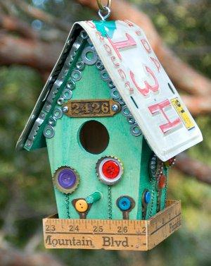 Junk Store Birdhouse