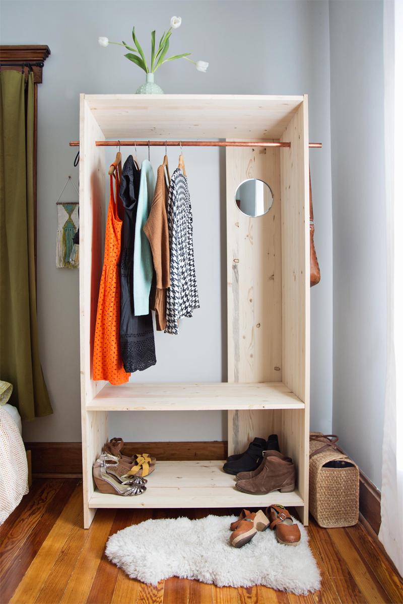 Modern Wooden Wardrobe