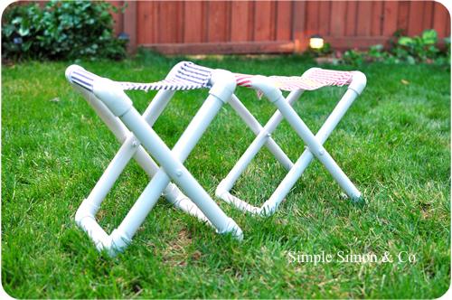 PVC Camp Chairs