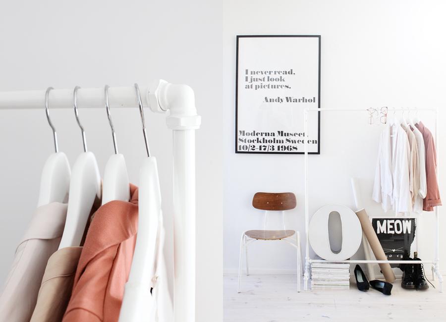 PVC Clothes Rack