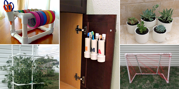 cool things to do with pvc pipe pictures to pin on