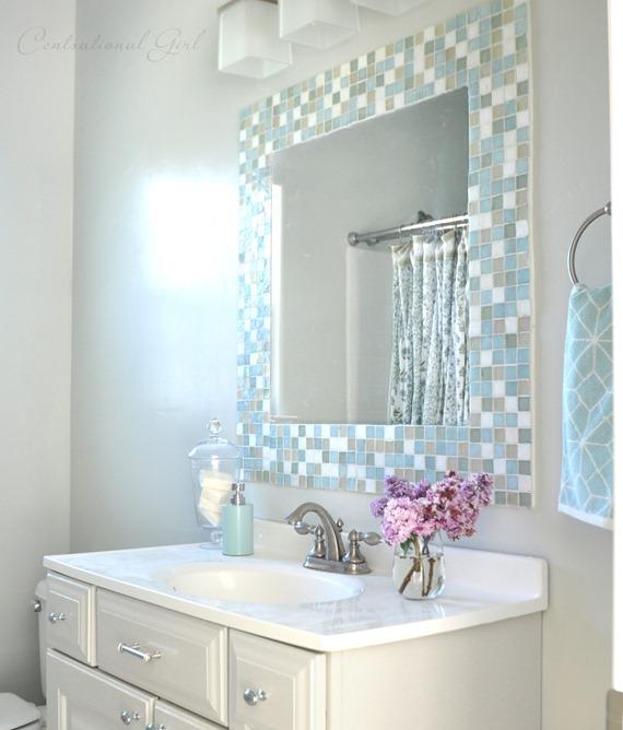 Update Your Bathroom Mirror