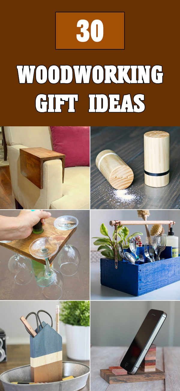 30 Cool DIY Woodworking Gift Ideas