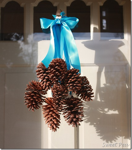 Pine Cone Door Decoration
