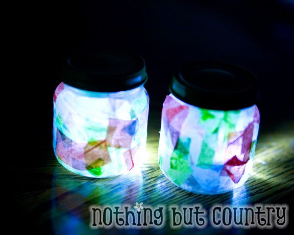 mini baby jar nightlights