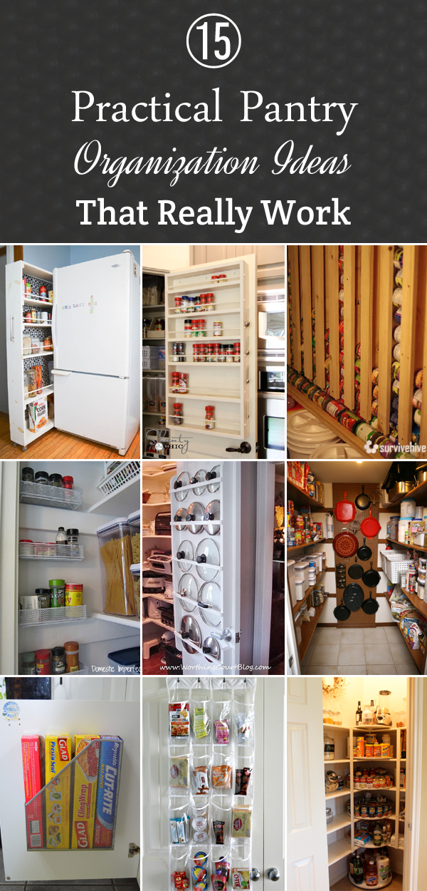 15 Practical Pantry Organization Ideas That Really Work