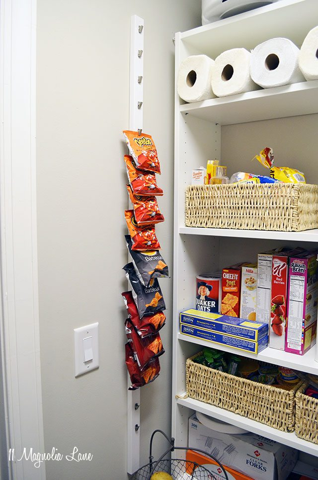 Pantry Chip Rack