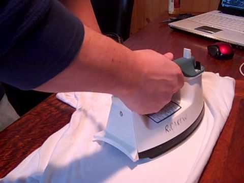 Remove Heat Stains from Wood Tables with an Iron