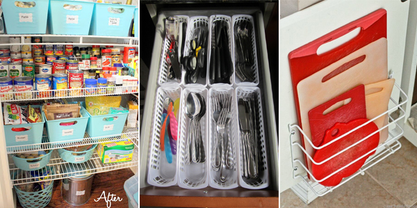 Dollar Store Ideas To Organize Your Kitchen