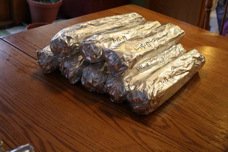 Keep Celery Fresh by Wrapping in Aluminum Foil