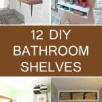 12 DIY Bathroom Shelves To Organize Your Space in Style