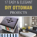 17 Easy & Elegant DIY Ottoman Projects