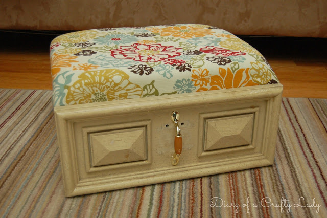 Old Drawer Ottoman