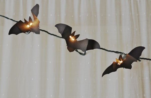 Bat Light Garland