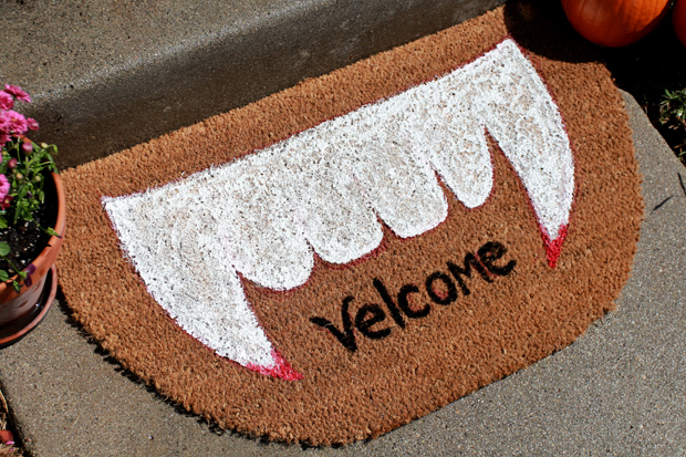 Spooky Welcome Mat