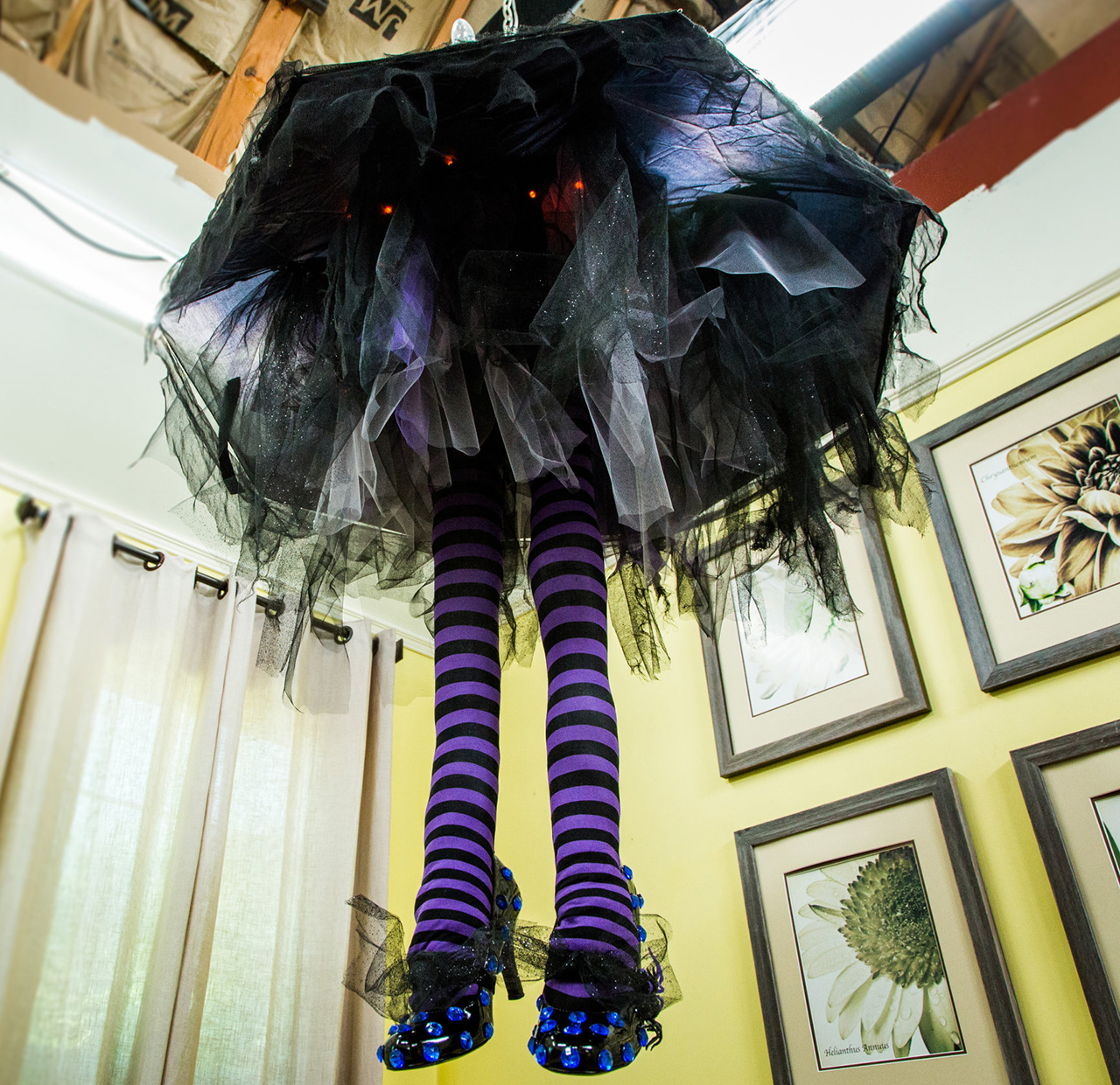 Witch Leg Chandelier