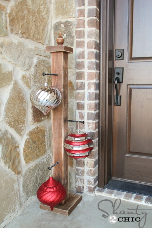 Front Porch Ornament Stand