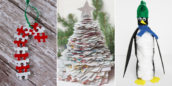20 Original Christmas Decorations You Can Make From