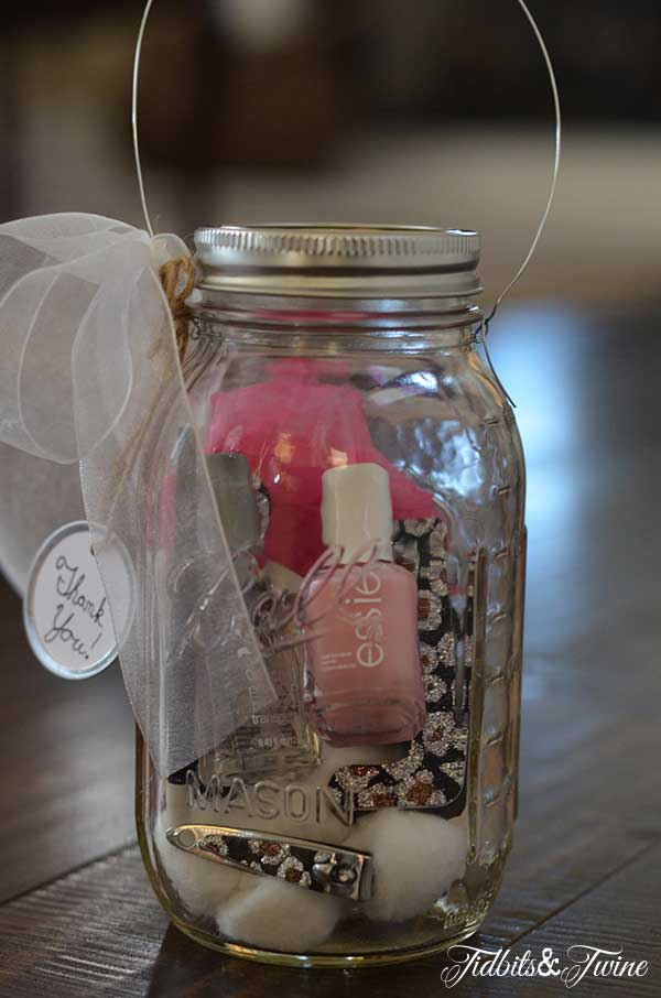 Mason Jar Manicure Kit