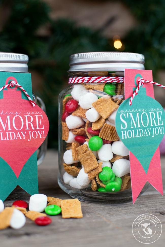 S'mores Mason Jar Gifts