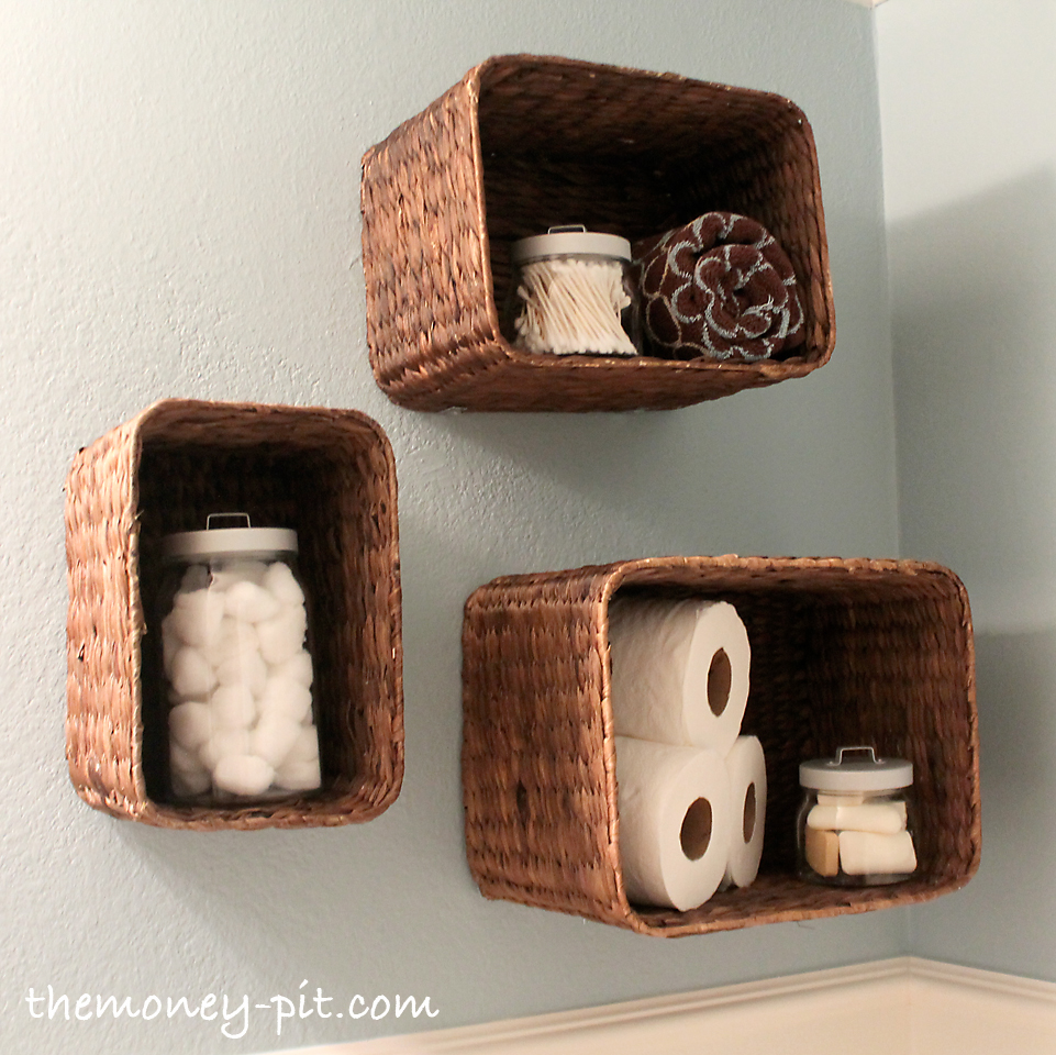 Use Baskets as Shelves