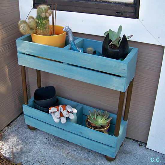 Tiered Garden Shelf