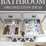 10 Dollar Store Bathroom Organization Ideas