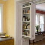 Built-In Vertical Drawer
