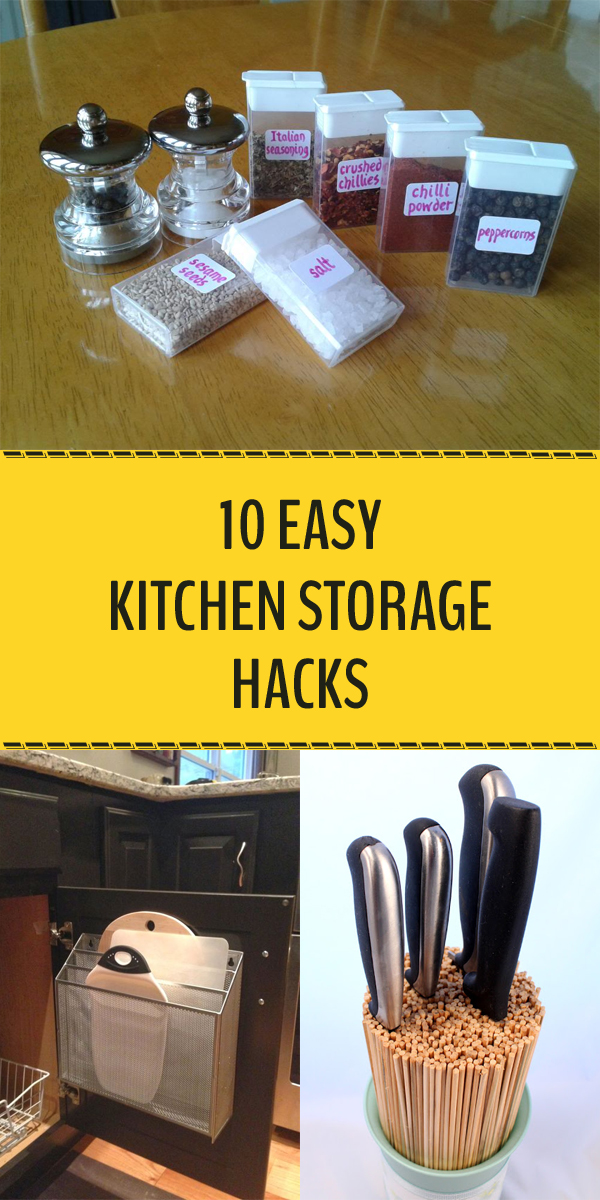 10 Easy Kitchen Storage Hacks You Need to Try