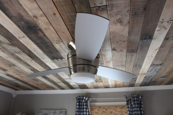 Pallet Wood Ceiling