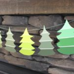 Paint Chip Christmas Garland