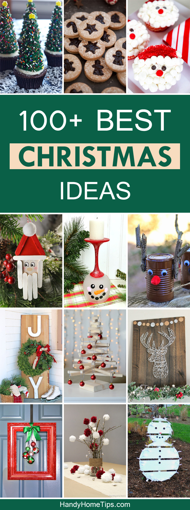 100+ Best Christmas Ideas – Gifts, Recipes and Decor