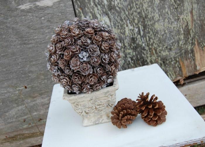 Pinecone Topiary