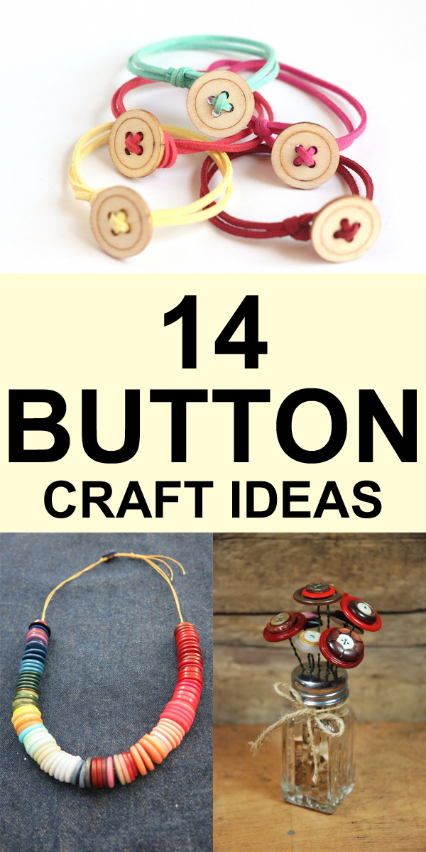 14 Easy and Fun Button Craft Ideas