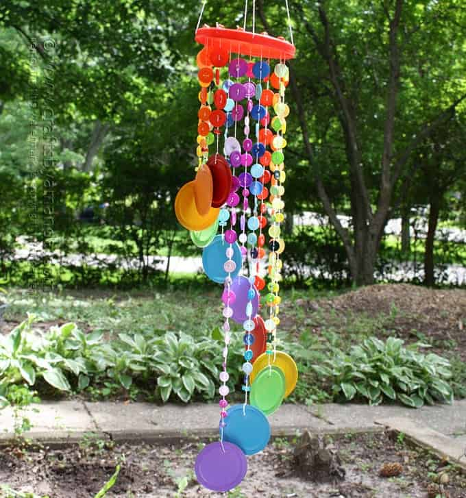Button Wind Chime