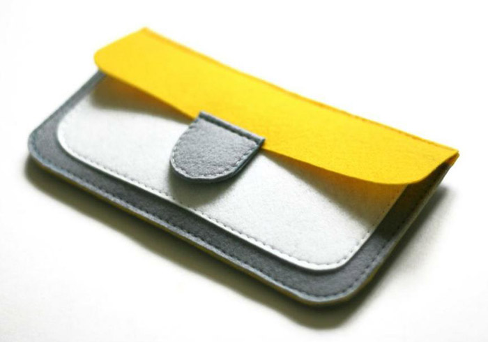 Felt Coin Purse Wallet
