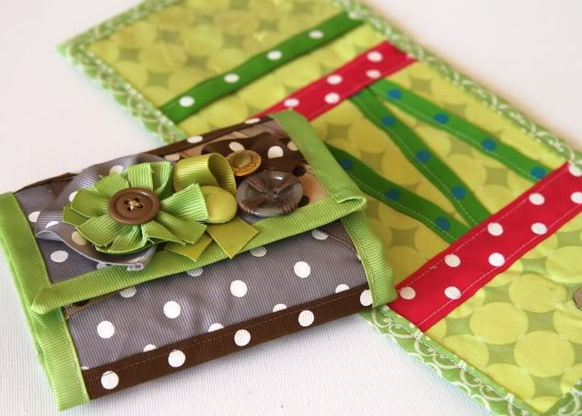 Scrap Ribbon Wallet