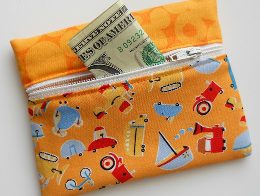 Simple Kids Wallet Pattern