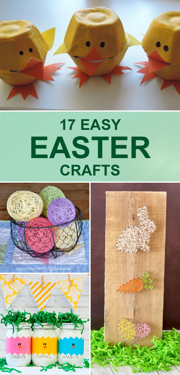 17 Easy Easter Crafts That Will Put You In The Festive Spirit